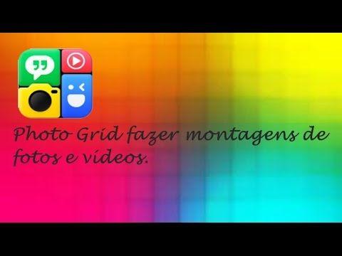 Photo Grid - Aplicativo Para Montagem de Fotos e Vídeos (no IOS)