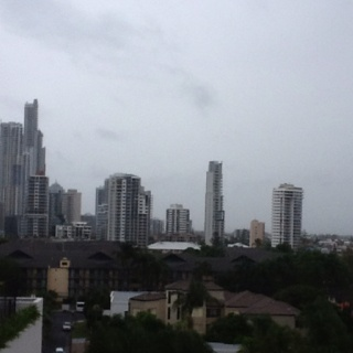 Gold Coast, no sun :-)