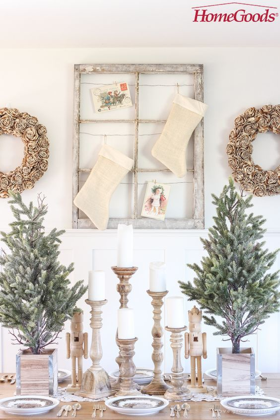 13 bloggers serve up holiday inspiration with a little help from HomeGoods. (Photo by Liz from Love Grows Wild)