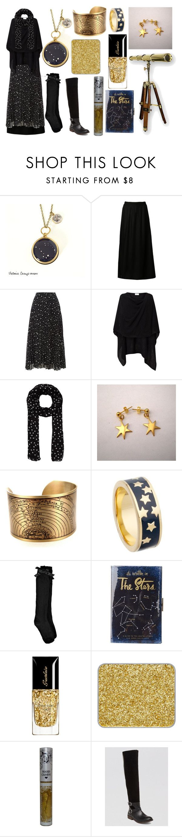 The Atronomer by maggiehemlock on Polyvore featuring Biba, Boohoo, Jacqueline De Yong, Lucky Brand, Kate Spade, Astley Clarke, Hallhuber, shu uemura, Hard Candy and Guerlain