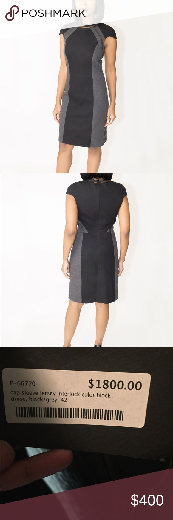 Fendi by the way color block dress