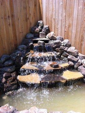 Best Backyard Waterfalls Ideas On Pinterest Water Falls - Backyard waterfall ideas