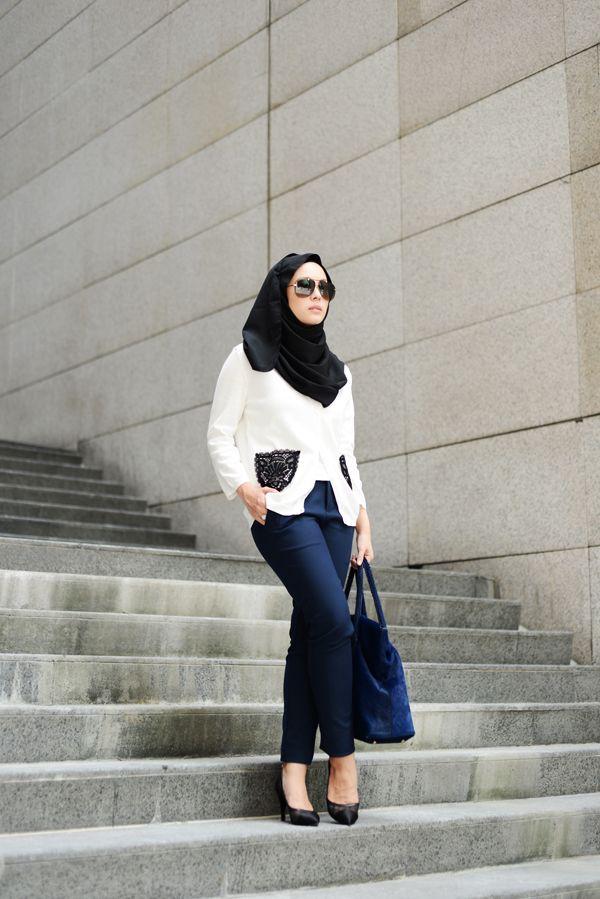 Vivy Yusof Hijabista Pinterest Ootd Street Hijab Fashion And Street Hijab