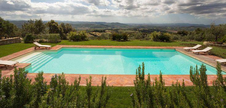 Un'oasi acquamarina nella verdeggiante Toscana