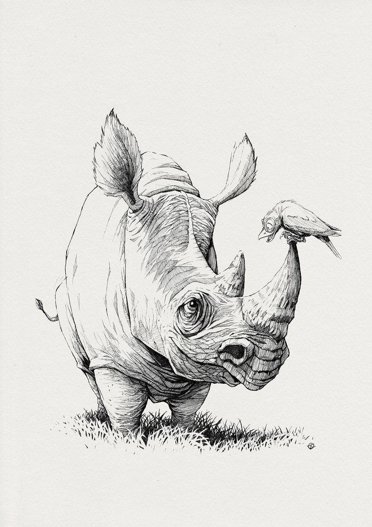 ArtStation - Tatende - Rhino, Tomek Larek