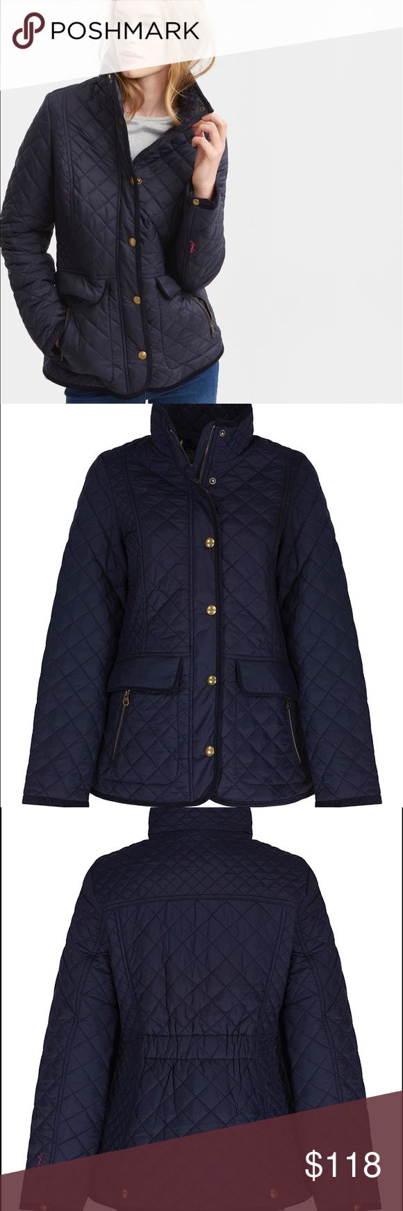 Joules Quilted Newdale Joules Quilted Newdale NWT!  Really lovely coat appropriate for New England fall temps...wish I could keep it but it's too large. Joules Jackets & Coats Puffers