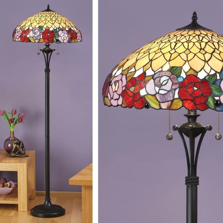 Art Deco Uplighter Floor Lamp