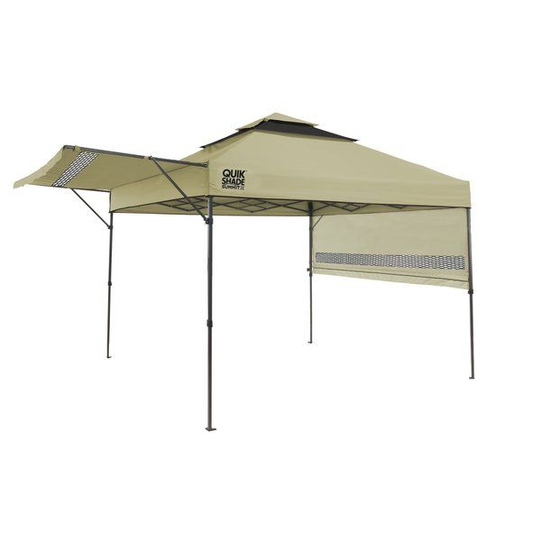 Summit 10 Ft W X 10 Ft D Metal Pop Up Canopy Bryn Mawr Instant Canopy Canopy Shelter Canopy
