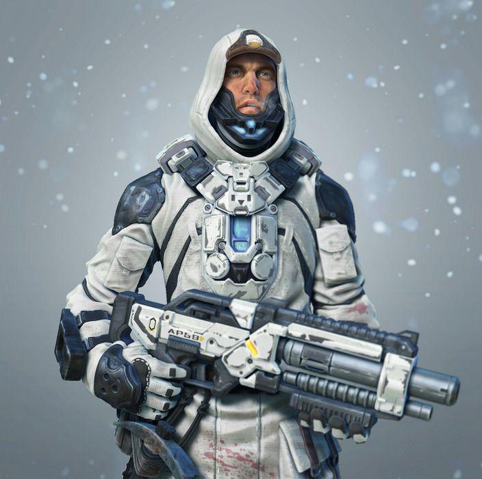 Rubeus Finnigan Comandante degli Esploratori in un pianeta ghiacciato.