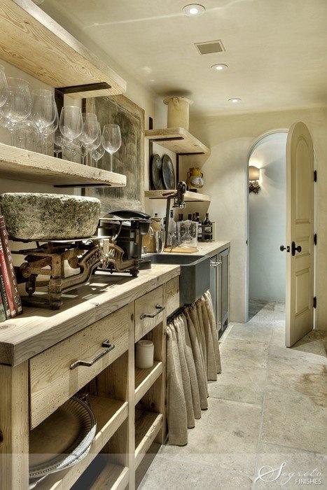 Gentil Unfitted Kitchen Style