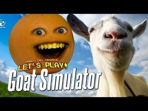 Annoying Orange Let's Play Goat Simulator #1 - http://www.viralvideopalace.com/realannoyingorange/annoying-orange-lets-play-goat-simulator-1/