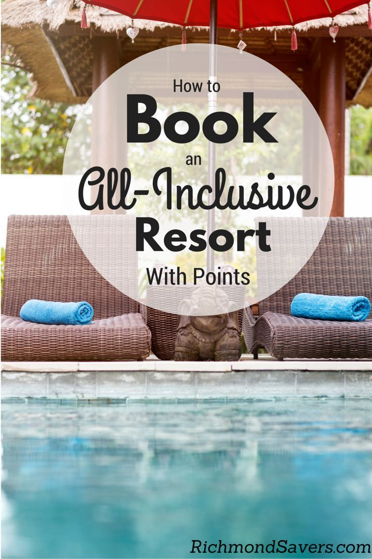 I'm going to lay out exactly how you can score an all-inclusive deal for your own family #travel #vacation #beach http://www.richmondsavers.com/the-holy-grail-how-to-book-an-all-inclusive-resort-with-points/