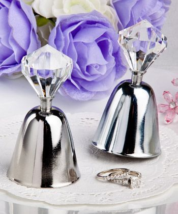 Dazzling Diamond Wedding Bell Favors Weddingbellfavors Beach