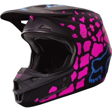 Fox Racing 2017 Womens V1 Helmet - Grav