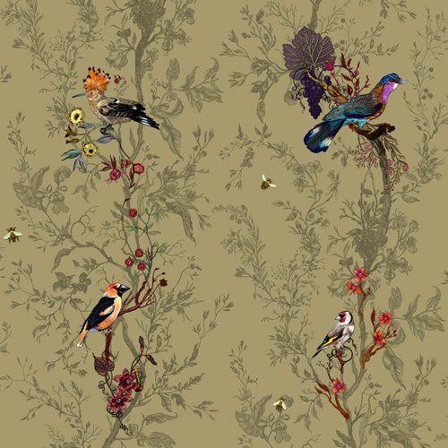 Timorous Beasties wallpaper