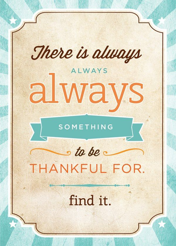 "Download this ""Thankful"" sign in high resolution + 2 other inspirational quotes (for free) on www.blog.hwtm.com"