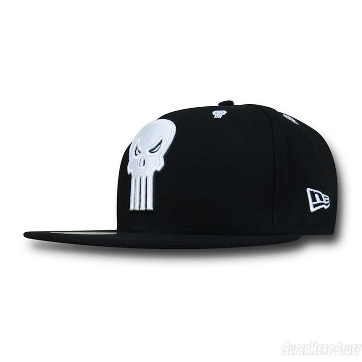 Punisher Symbol Stargazer 59Fifty Hat New Era Cap Hat