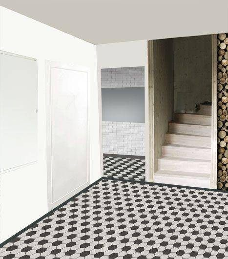 Floor style template for Austrian Wine Cellar using Zahna Fliesen