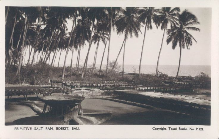 INDONESIA BALI Primitive salt pan Boekit RPPC 1920s | eBay