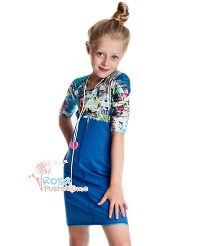 Kiezel-tje Kleid dress - blue