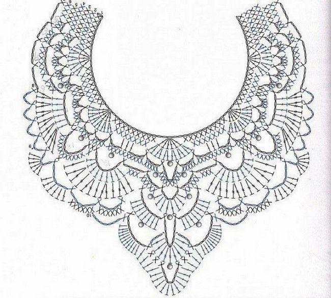 Modele de bijoux en crochet