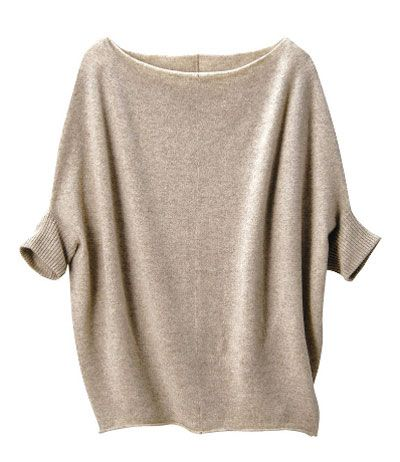 cashmere slouch - from uniqlo