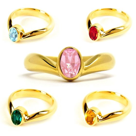 "NEEEEEEEEEEEEEEEEEEEEEEEEEEEEEEEEED Crunchyroll - ""Sailor Soldier Tiara Ring,"" First Accessory from ""Sailor Moon Crystal"""