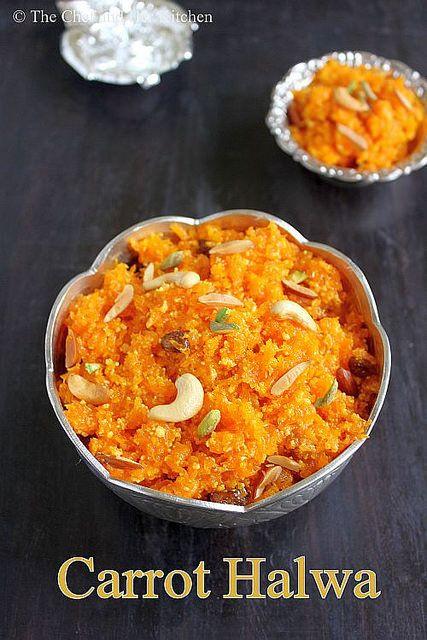 THE CHEF and HER KITCHEN: Carrot Halwa | Gajar ka Halwa | Halwa Recipes