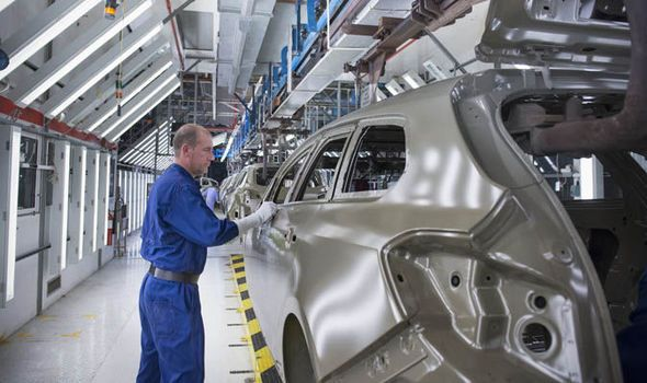 UK car manufacturing boost as makers increase production ahead of new number plates