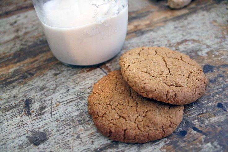 Gingernut Biscuits (Autoimmune Friendly) - Karen Martel Nutrition