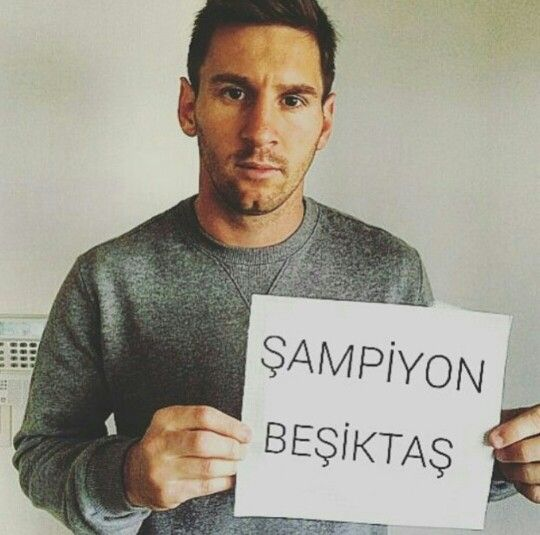 message from messi