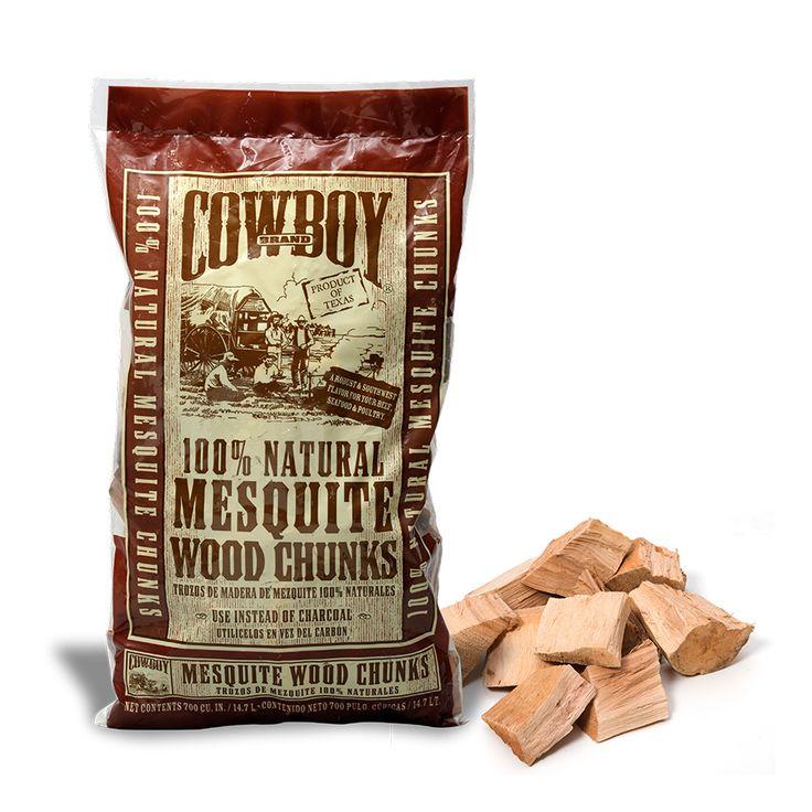 Cowboy mesquite wood chunks cowboy charcoal products
