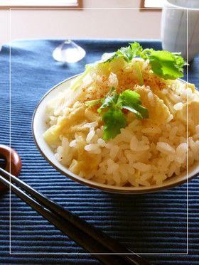 筍ご飯 うどんスープの素&松山あげ使用。 by ミッキーアン ...