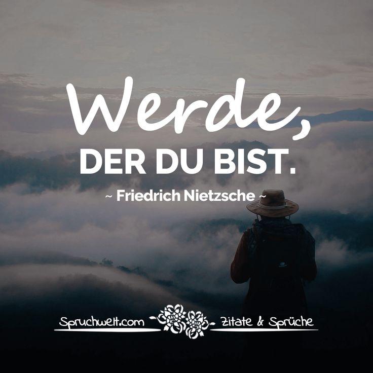 Werde, der du bist – Nietzsche Zitate & Aphorismen