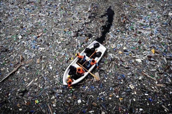 Conoce el infame «séptimo continente», la gran isla de basura del Pacífico
