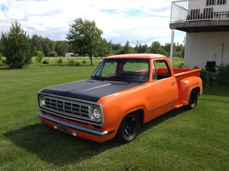 612 best DODGE Pickup's| 1970 & '71 With 1972 -1993 images on ...