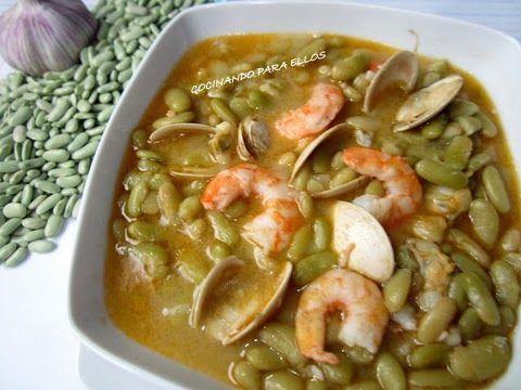 #Verdinas con marisco #CocinaAsturiana