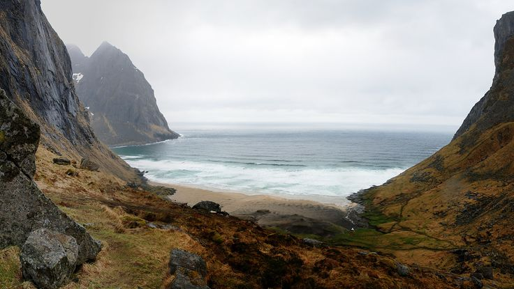 https://flic.kr/p/HCpmvK | Wilderness | Kvalvika beach, Lofoten islands.  Six months in Norway.