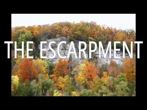 The Escarpment (Milton Mystery series, #1) by Ron Base. Book trailer.  #MiltonON