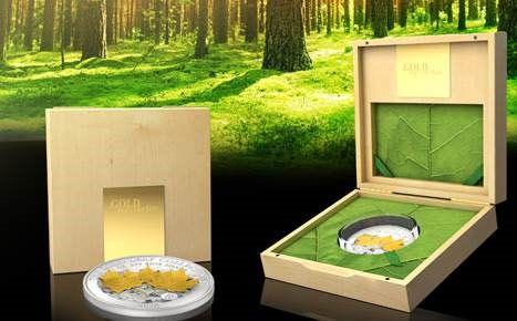 Maple Leaf 3D, stříbrná mince