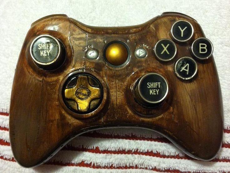 Custom Steampunk Xbox 360 Controller