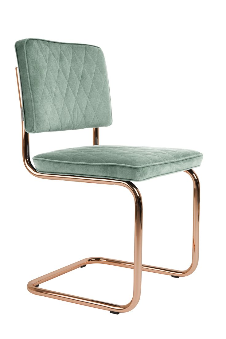 Diamond chair Minty green