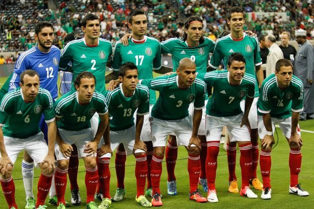 Mexico world cup soccer team 2014