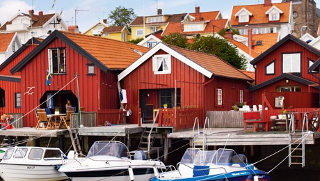 Sjöbodssommar på västkusten - Boathouse summer on the west coast