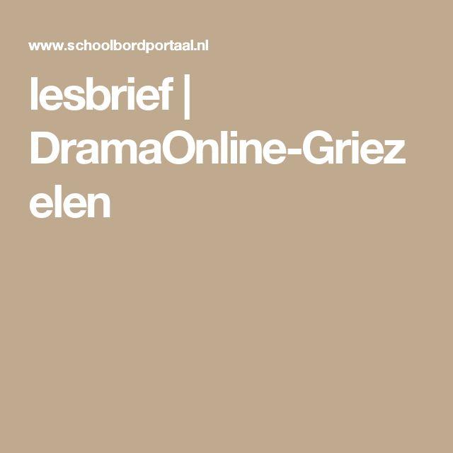 lesbrief | DramaOnline-Griezelen
