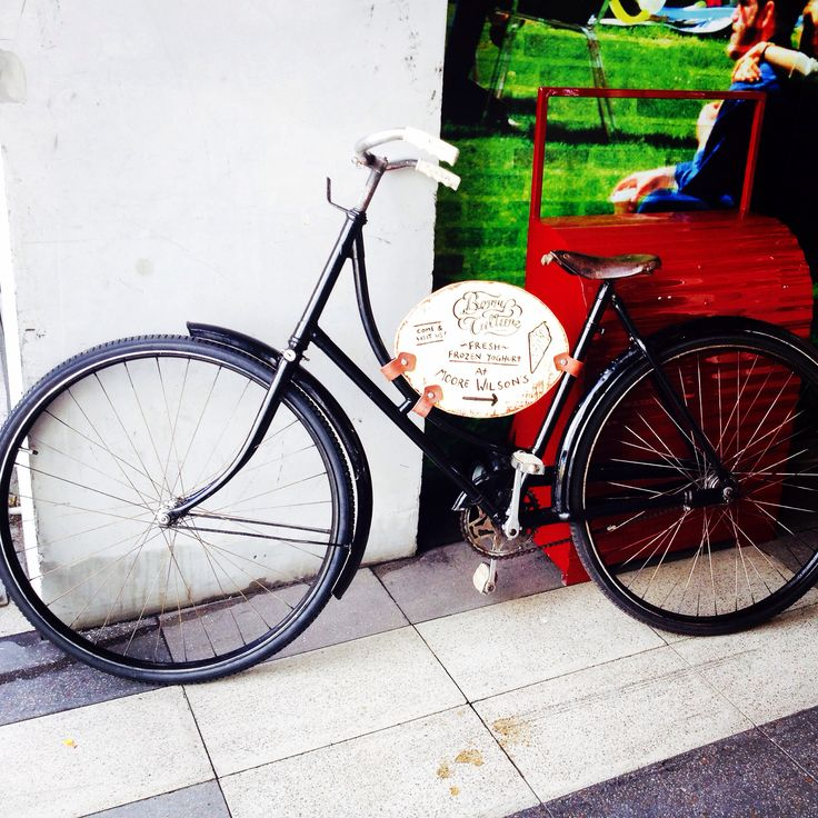 The BerryCulture vintage Empire bike @ Moore Wilson's , Wellington.