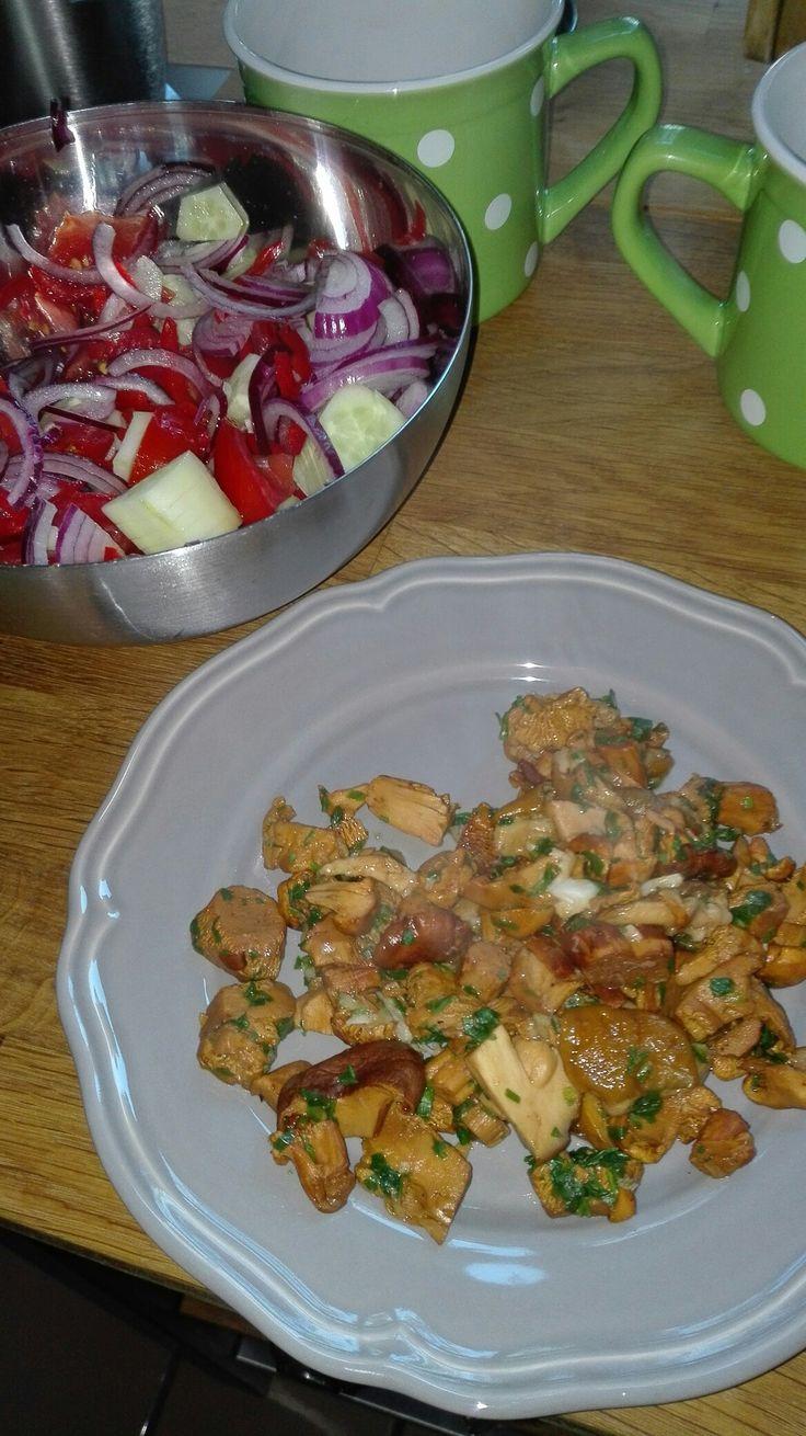 vitamine_salata de rosii,ceapa,castraveti si ciuperci la tigaie(fara ulei) cu verdeata ,piper si usturoi.In carte am vazut ca este oermisa foaaaarte putina sare.Eu nu am pus