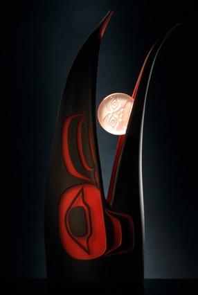 Preston Singletary - close up of Raven