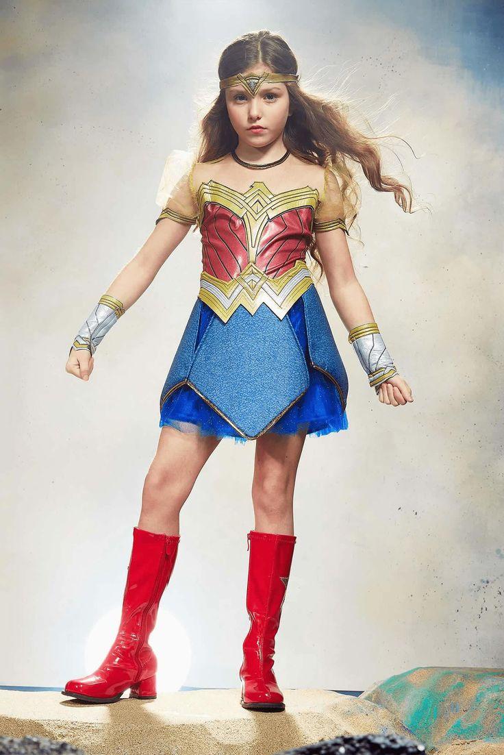 Little Girl Wonder Woman Costume