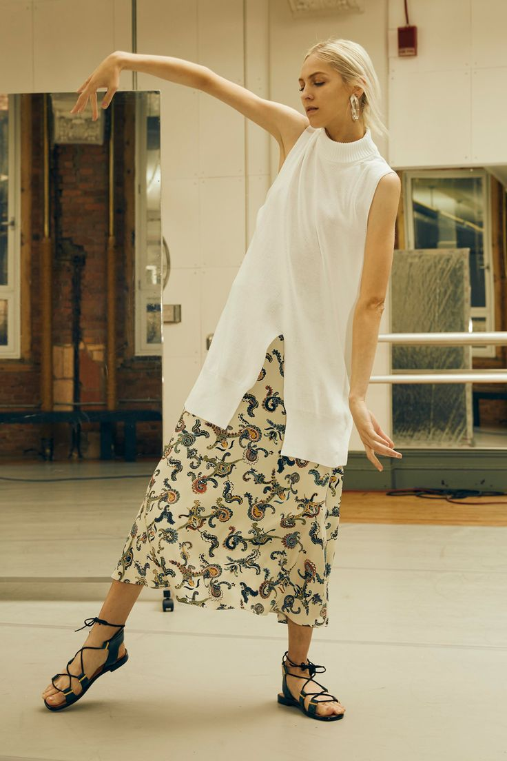 look 8 - See the complete Rosetta Getty Spring 2016 Ready-to-Wear collection.